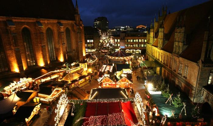 Hannover Er?ffnung Weihnachtsmarkt Altstadt