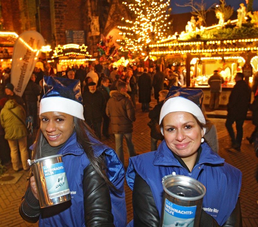 Weihnachtshilfe Spenden