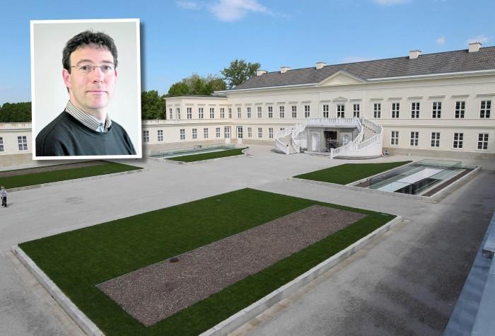 STellt sein Buch über Schloss Herrenhausen vor: HAZ-Redakteur Conrad von Meding.
