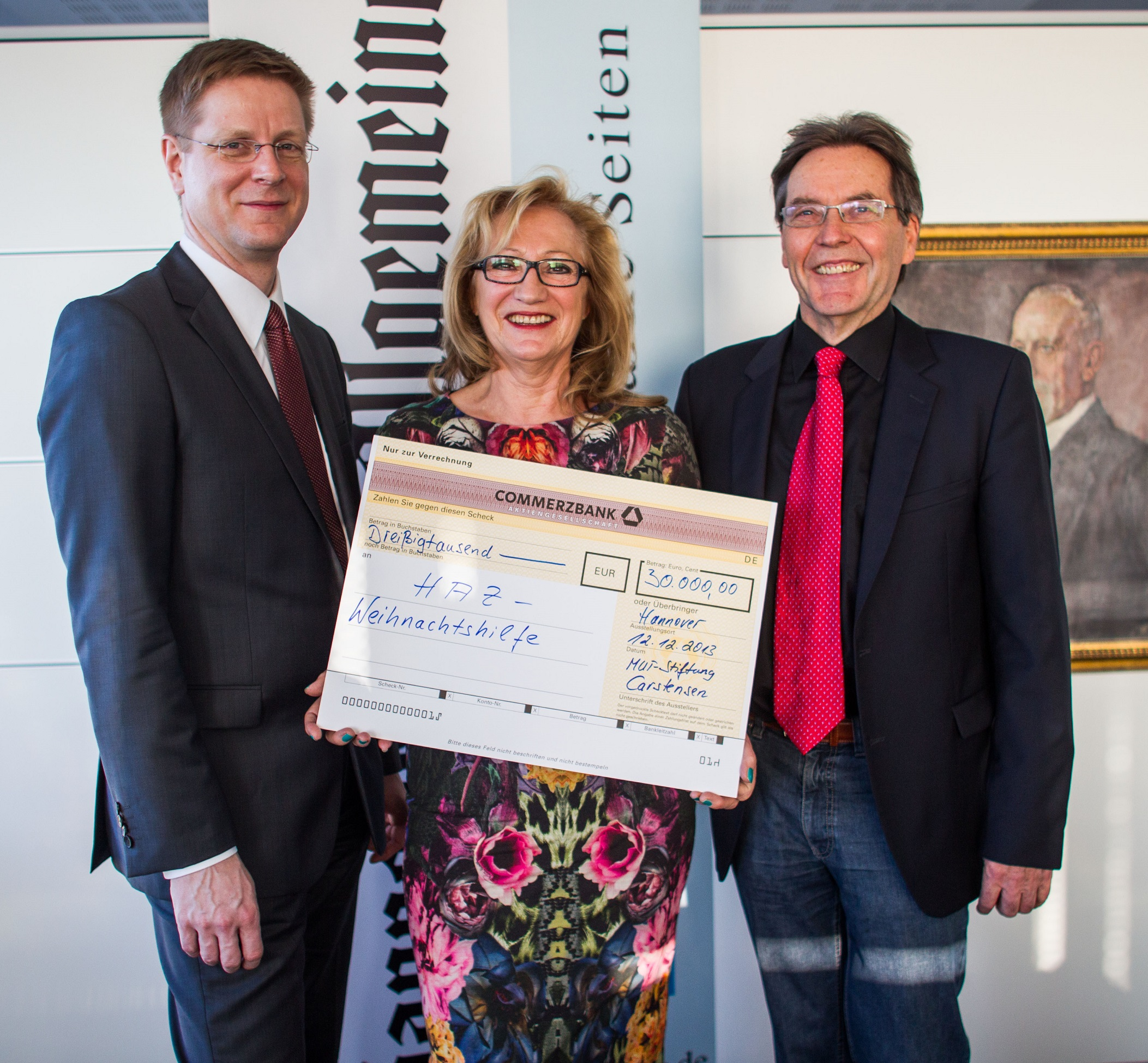 MUT-Stiftung spendet 30 000 Euro