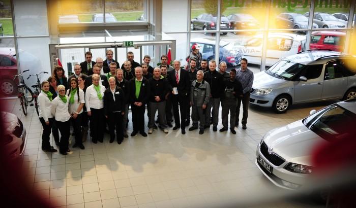 HAZ Weihnachtshilfe: Autohaus Rindt & Gaida