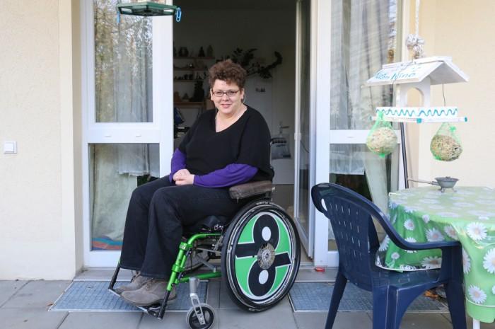 Juliane Braun möchte mit einem Handbike ihr Leben wieder selbstbestimmer leben können.