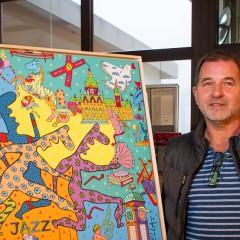 Kunst in der Galerie Luise hilft Menschen in Not