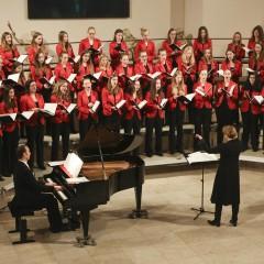 Mädchenchor sorgt für Spendenrekord
