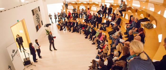 Musiker geben im OG der Kestnergesellschaft ein Konzert zugunsten der HAZ Weihnachtshilfe.  Foto: Philipp von Ditfurth