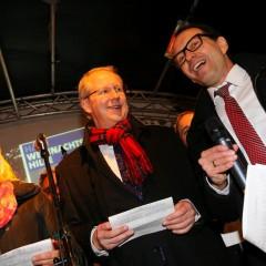 Hannovers Stadtrat singt und sammelt