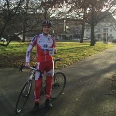 Winterliche Radtour wird zum Spendenmarathon