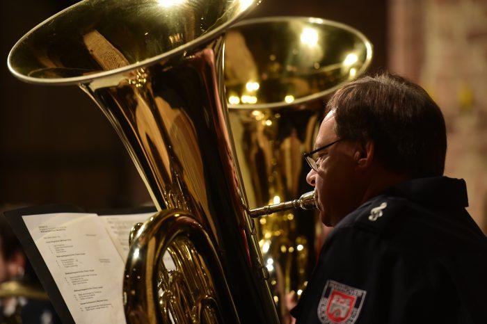 Ein Adventskonzert vor der China-Tour: Opus 112 spielt für die Weihnachtshilfe. Foto: Körner