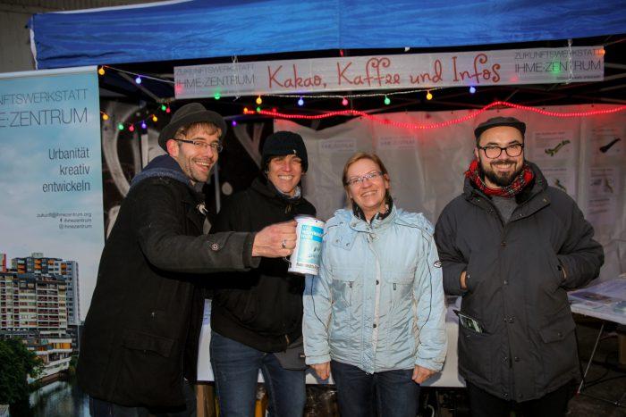 Beim Lindener Weihnachtsmarkt wurden Spenden gesammelt. Foto: Kutter