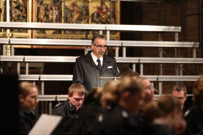 Das Orchester Opus 112 spielt in der Marktkirche für die HAZ-Weihnachtshilfe. Foto: Tim Schaarschmidt