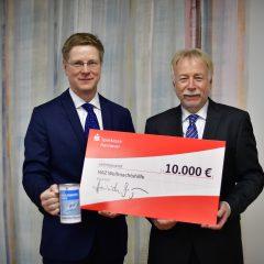 Die Sparkasse Hannover unterstützt die Weihnachtshilfe