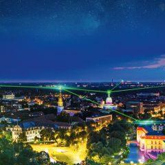 Hannover leuchtet für den guten Zweck