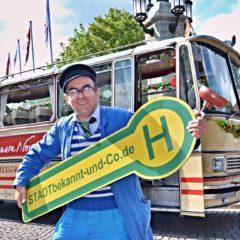 Kult-Busrundfahrt mit Heinrich Bloch