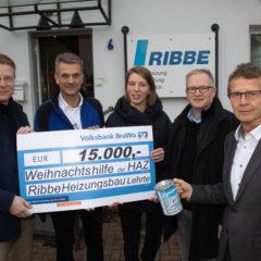 Der Handwerksbetrieb Ribbe hilft Menschen in Not