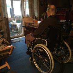 Ein neuer Fall für die Weihnachtshilfe: Ein ehemaliger Krankenpfleger braucht einen Rollstuhl