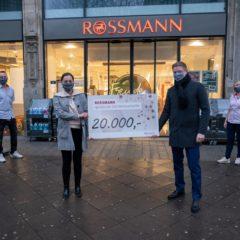 Rossmann hilft in einer herausfordernden Zeit