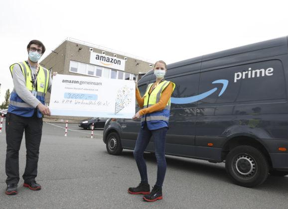 Amazon engagiert sich für Menschen in Not vor Ort